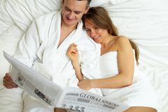 Morning idyl Royalty Free Stock Image