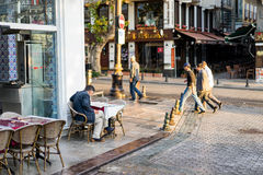 The morning of Istanbul Royalty Free Stock Photos