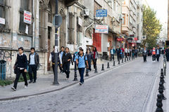 The morning of Istanbul Stock Images