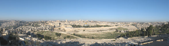 Morning in Jerusalem Royalty Free Stock Photo