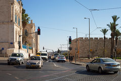 Morning in the Jerusalem. Royalty Free Stock Photos