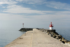 Morning jetty Royalty Free Stock Images