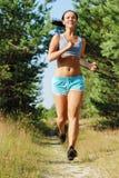 Morning jogging Stock Photo