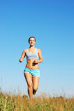 Morning jogging Stock Photography