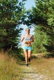 Morning jogging Royalty Free Stock Image