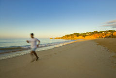 Morning jogging Royalty Free Stock Photography