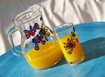 Morning juice Stock Photo