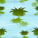 Morning jungles seamless pattern Royalty Free Stock Photos