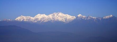 Morning at Kangchenjunga. Royalty Free Stock Photos