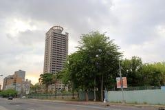 Morning kaohsiung city at cloudy day Royalty Free Stock Photo