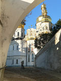 Morning in Kiev-Pechersk Lavra Royalty Free Stock Photo