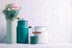 Morning kitchen still life Royalty Free Stock Images