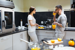 Morning in the kitchen Stock Photography