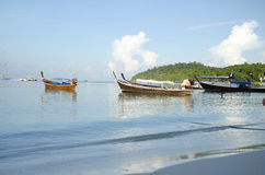 Morning at Koh Lipe in Satun, Thailand. Stock Photos