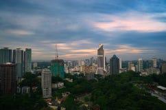 The morning of Kuala Lumpur Stock Image