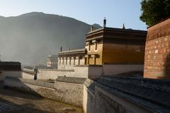 Morning Labrang Lamasery Royalty Free Stock Images