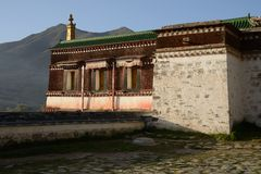Morning Labrang Lamasery Royalty Free Stock Photography