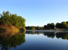 Morning lake Stock Photo