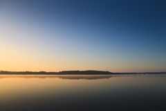 Morning on the lake. Early morning on the lake Royalty Free Stock Photos