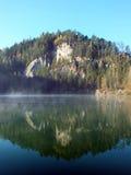 Morning lake stock photography