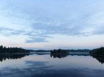 Morning on lake Royalty Free Stock Images