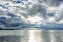 Morning on lake Stock Photography
