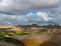 Morning landscape Badlands National Park Royalty Free Stock Image