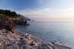 Morning landscape. Sicily, Italy Stock Photo