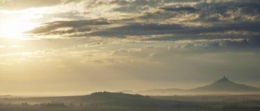Morning landscape Royalty Free Stock Photos