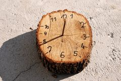 Morning lifestyle clock Stock Images