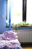 Morning light in bedroom Stock Photography