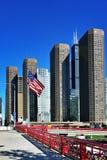 Morning light of Chicago Stock Image