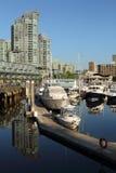 Morning Light, Coal Harbor, Vancouver Stock Image