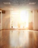 Morning light in empty room. With window Royalty Free Stock Photography