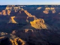 Morning light at Grand Canyon Royalty Free Stock Images