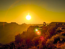 Morning light at Grand Canyon Royalty Free Stock Photography