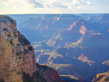 Morning light at Grand Canyon Royalty Free Stock Photos