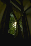 The morning light outside the window Royalty Free Stock Images