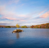 Autumn At Tupper Lake Stock Photography