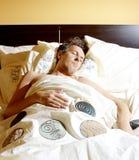 Morning light. Sleep Royalty Free Stock Image