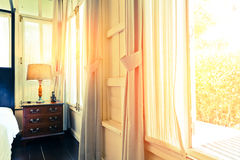 The Morning Light Spread Through The Window Stock Images