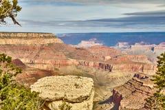 Morning light sunrise at Grand Canyon, Arizona USA Stock Photography