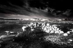Morning. The morning light in Tibet Royalty Free Stock Image