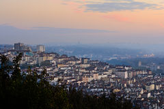 Morning lights and colors at Croix-Rousse, Lyon, France, Europe Royalty Free Stock Images