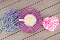 Morning lilac gift Royalty Free Stock Photography