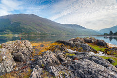 Morning at Loch Duich Royalty Free Stock Photos