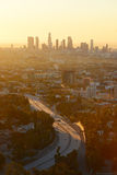 A morning at los angeles Stock Photography