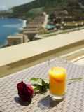 Morning in luxury resort Stock Photography