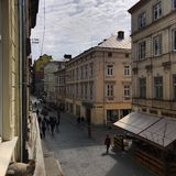 Architecture of the Ukrainian city of Lviv royalty free stock photos