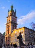 Morning in Lviv 15 Royalty Free Stock Photos